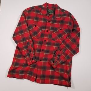 Vintage Ralph Lauren Country Small Plaid Flannel